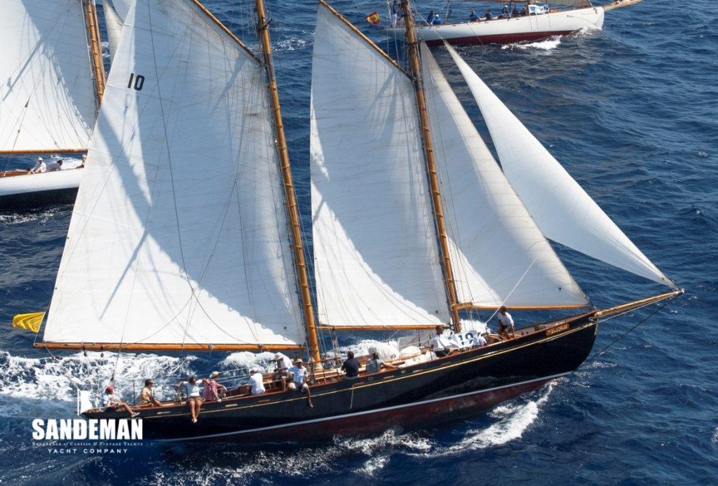 Malabar schooner gaff rig American